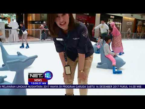 Asiknya Bermain Ice Skating Di Pondok Indah Mall Winter Wonderland - NET12