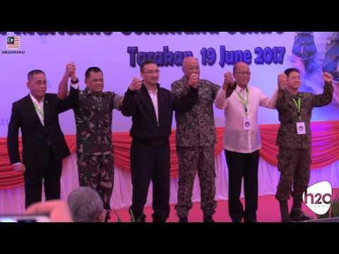 INDOMALPHI Trilateral Maritime Patrol (TMP) Launch