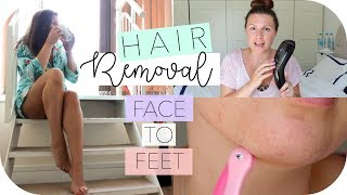 All About Hair Removal / From Face To Feet / Crash Test Mummy