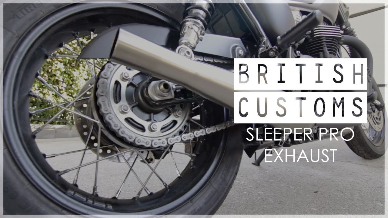 British Customs Sleeper Pro - Triumph Bonneville T120
