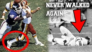 The WORST Injury in NFL History (FT. Darryl Stingley)