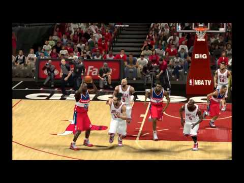 NBA 2K13 My Player Steal/Dive + Dunk