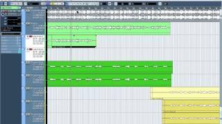 (Steinberg Cubase) Запись голоса и его сведение с минусом (0.0.3)