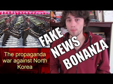 The propaganda war against North Korea