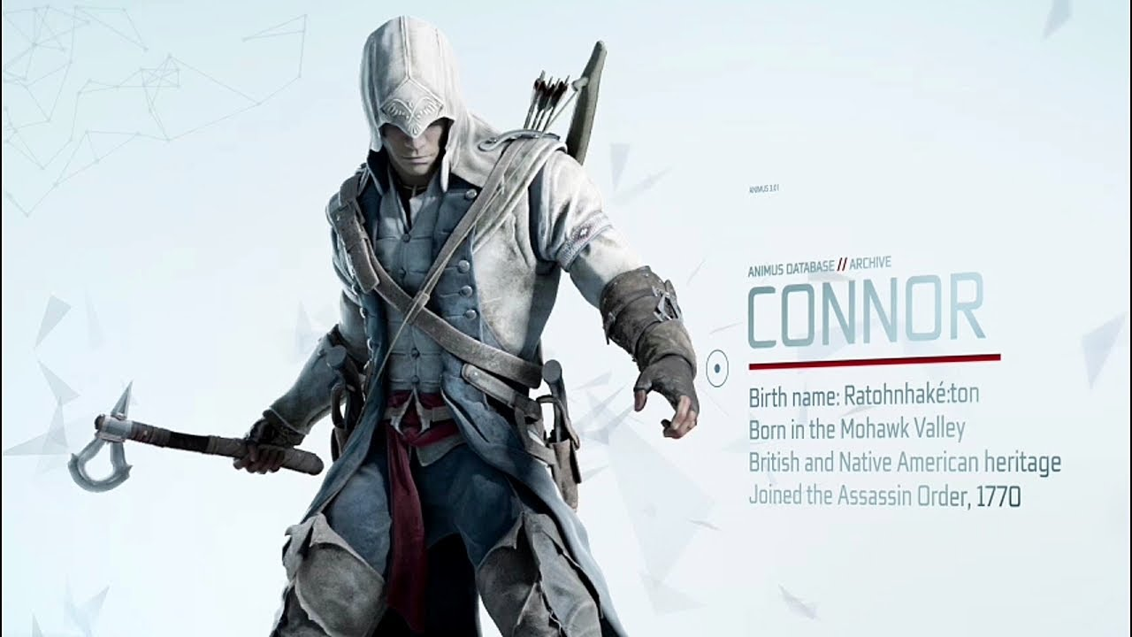 Assassin S Creed 3 Connor S Weapons Teaser Trailer 2012
