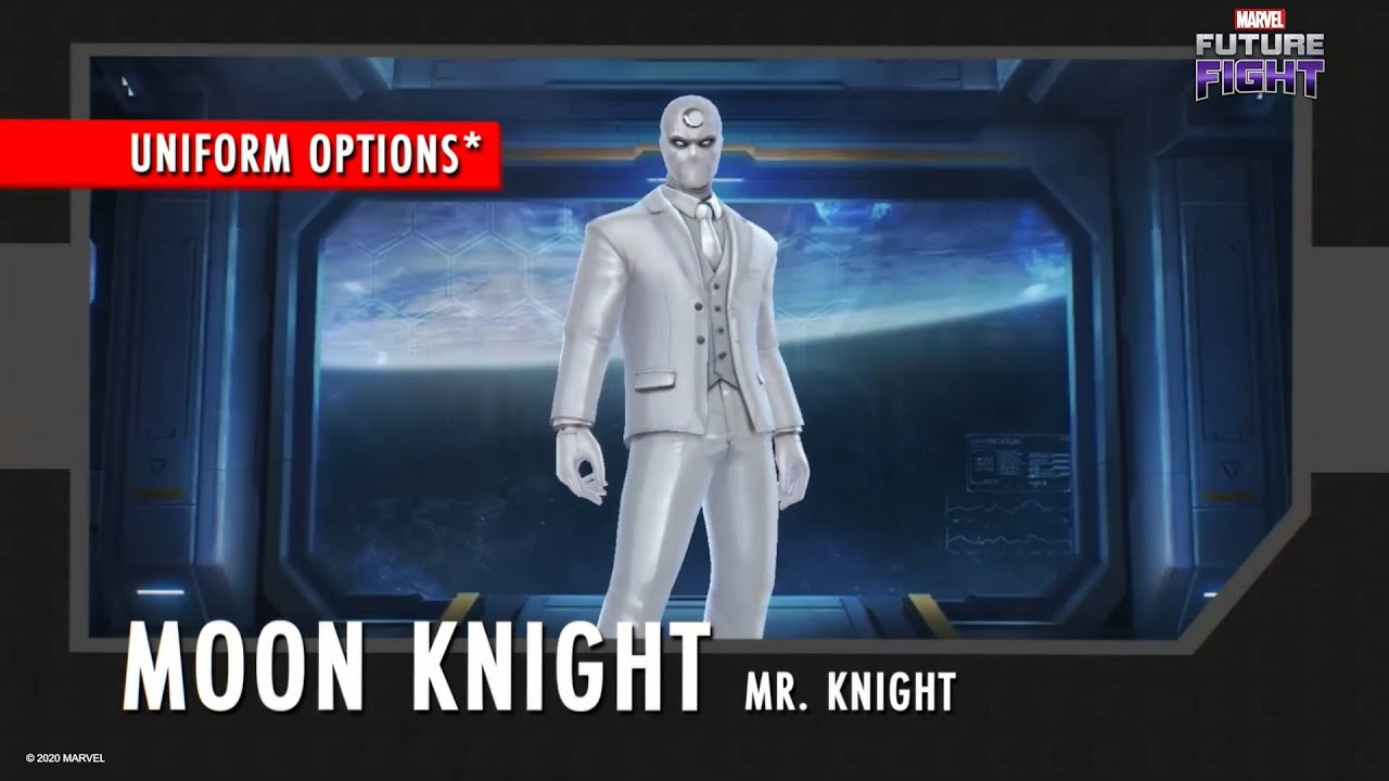 [MARVEL Future Fight] Sep. Update: Moon Knight's new uniform is coming!