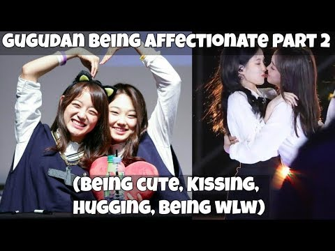 Gugudan Being Affectionate PART 2 (Kissing, Hugging & Being wlw!)