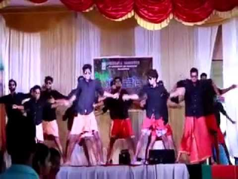 Awesome and Funny college theme dance at chinmaya thrissur