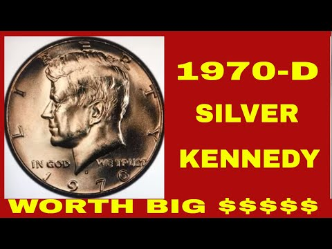 SEARCH FOR THIS COMMON 70D SILVER  KENNEDY HALF DOLLAR WORTH BIG MONEY. RARE HALF DOLLAR TO LOOK FOR
