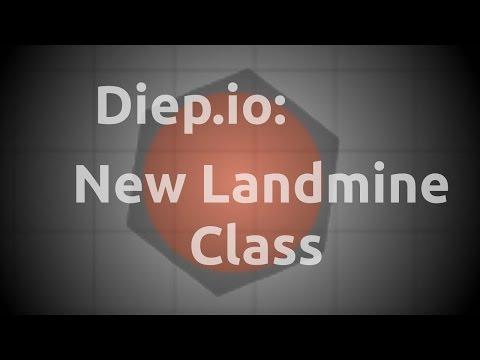 Diep.io: Testing the New Landmine Class!