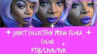 Janet Collection Perm Flora PT1B/LPUR/PUR