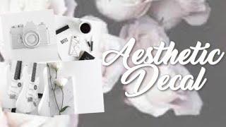 Roblox Bloxburg - White Aesthetic Decal Id's