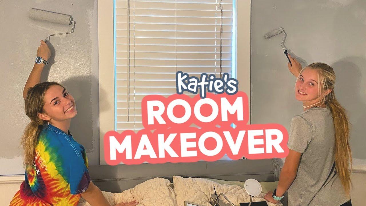 Katie's ROOM MAKEOVER Begins | **Who's Your Lovie?**