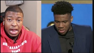 Gambar cover 2019 NBA AWARDS Announced: Giannis Wins MVP As Harden No Shows For Event| FERRO REACTS SPORTS