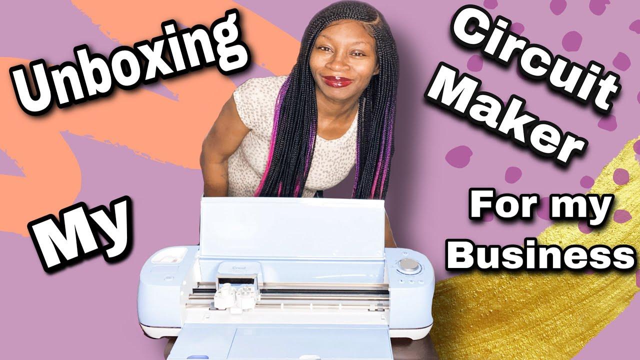 Cricut Maker Unboxing | Making Lip Gloss Label's #Business #MakingLabels #HowToMakeMoney