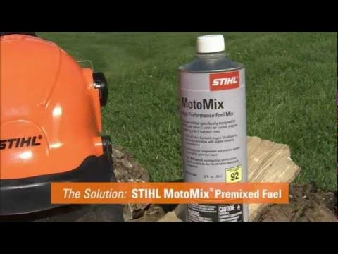 stihl motomix premixed fuel youtube. Black Bedroom Furniture Sets. Home Design Ideas