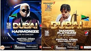 Diamond na Harmonize kwenye jukwaa moja Dubai usiku huu, wataiimba Kwangwaru pamoja au MIKAUSHO tu?