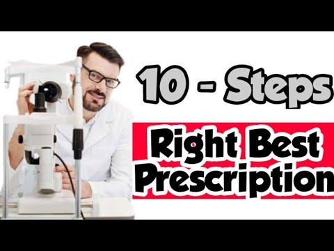 Best Right Prescription   10 Steps   Optometry world