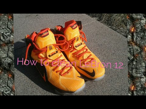 Best way to How to clean Lebron 12[Tutorial]