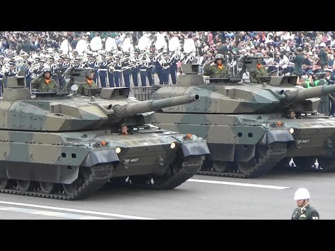 Japanese Military Parade 2016 [English subtitles]