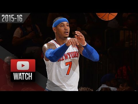 Carmelo Anthony Full Highlights vs Jazz (2016.01.20) - EPIC 30 Pts, 9 Ast, HISTORY!