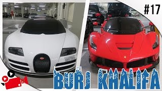 BURJ KHALIFA CAR PARK: FT. BUGATTI WHITESSE & LAFERRARI!!!