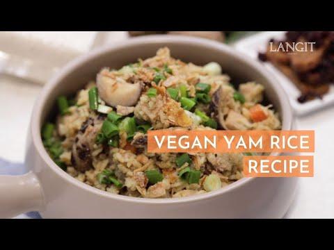 Vegan Yam Rice Recipe