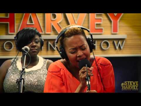 """Chrisette Michele Performs """"Charades"""" Live On The Steve Harvey Morning Show"""