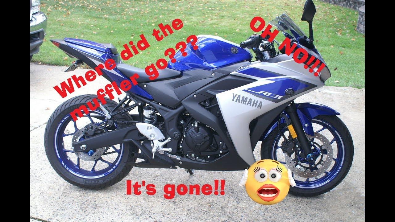 Yamaha R3 Muffler Delete