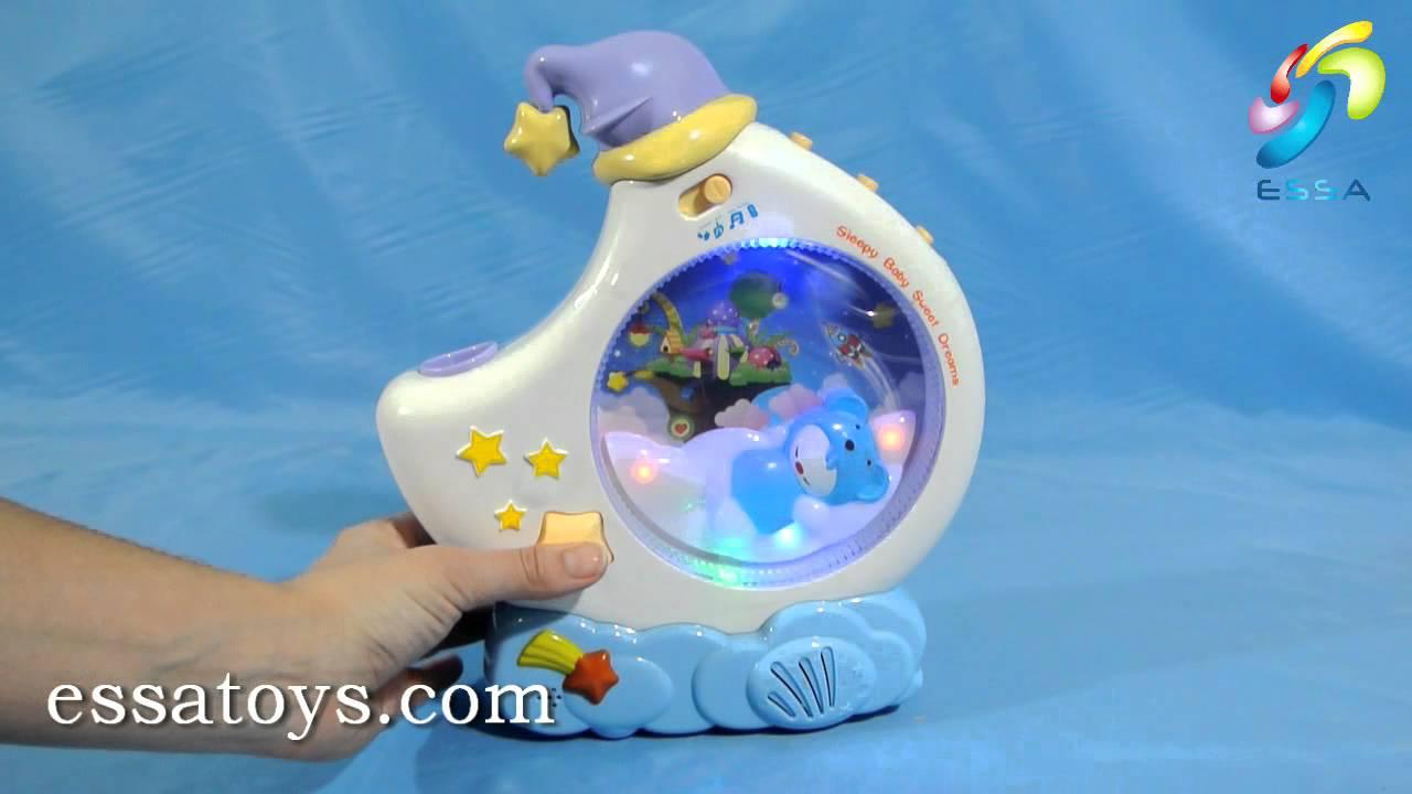 Музыкальная игрушка ночник