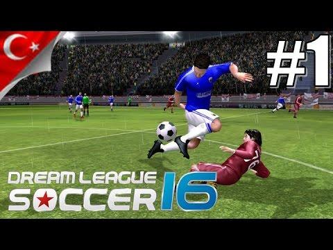 Dream League Soccer 2016 - Çok İstediniz YENİDEN Başlıyoruz Bölüm 1- Android - Türkçe - 1080p
