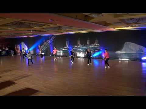 2017 WCDF Linedance World Championship(Advanced Silver : Kyoung Hee Hong) FUNKY