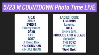 5/23 M COUNTDOWN Photo Time Live!
