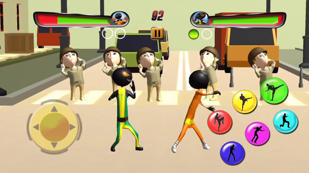 Stickman Neon Ninja Shadow Fighting Game Trailer By Crazy3dgames