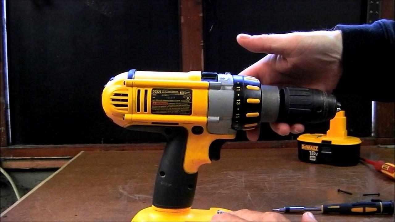 dewalt drill gearbox transmission  [ 1280 x 720 Pixel ]