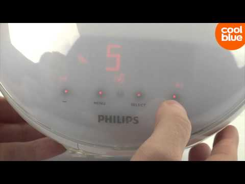Philips Wake-Up Light HF3520 videoreview en unboxing (NL/BE)