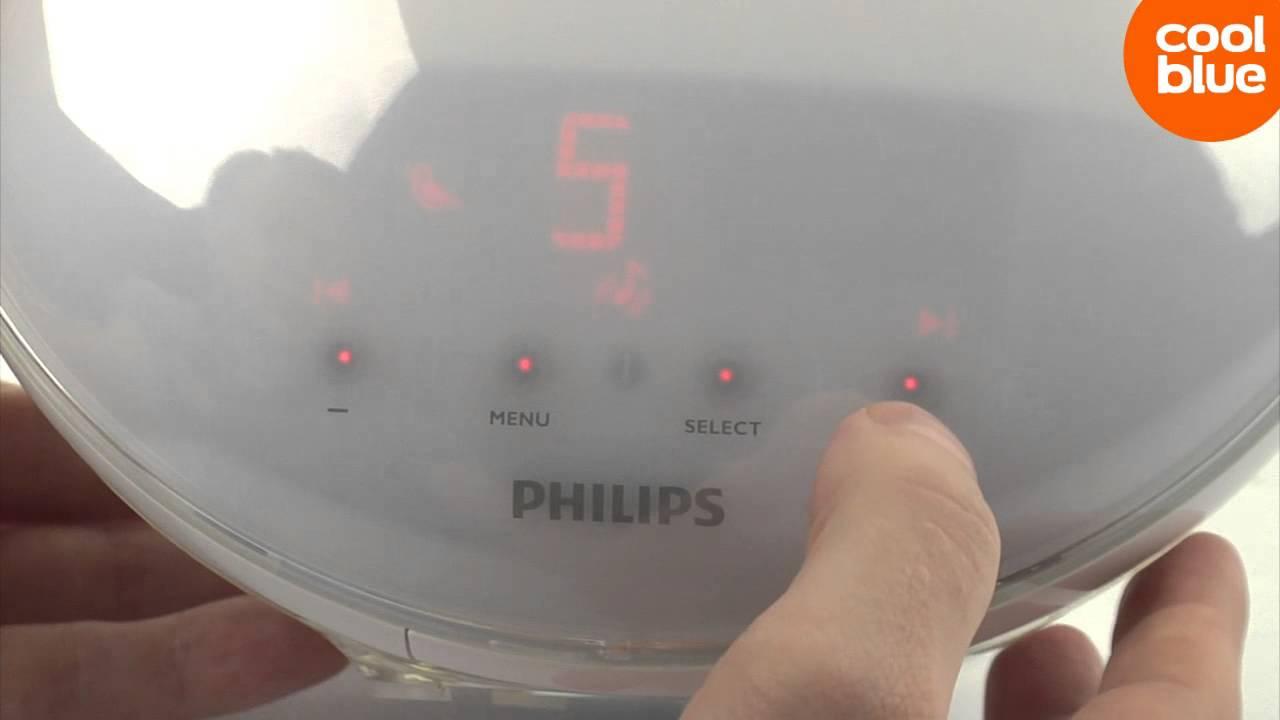 Philips Wekker Licht : Philips wake up light hf3520 videoreview en unboxing nl be youtube