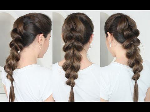 miglior fornitore selezione speciale di selezione mondiale di PULL THROUGH BRAID TUTORIAL - EASY & BEAUTIFUL!