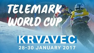 Telemark Skiing Parallel Sprint Finals | FIS Telemark World Cup in Slovenia