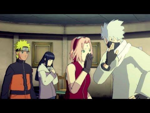 Sakura and Kakashi play Cupid for Naruto and Hinata ❤️️