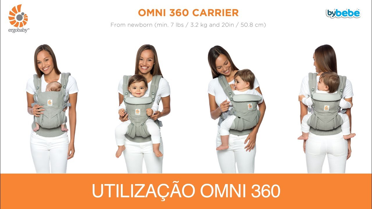 tienda del reino unido reputación primero compra especial Mochila Porta Bebé Ergobaby Omni 360 Ergobaby - Como Usar   bybebé