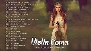 Best Instrumental Violin Cover Popular Songs 2019 - Violin Love Songs Instrumental