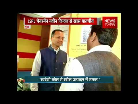 JSPL Chairman Naveen Jindal In Exclusive Chat With NWI At India Steel 2017