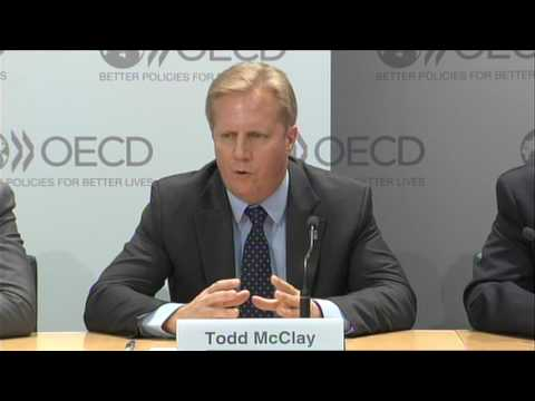 OECD services trade and global economy - press conference