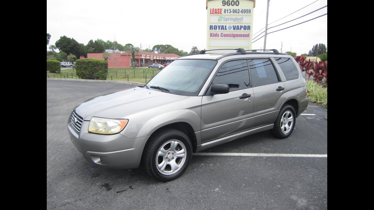 SOLD 2006 Subaru Forester X 98K Miles One Owner Meticulous Motors ...