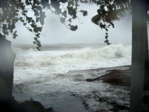 Hurricane Omar in Dominica