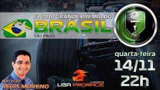 F1 2018    GP DO BRASIL    F1 AO VIVO   F1 2018 INTERLAGOS    XBOX COM RÉGIS MORENO