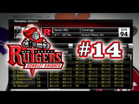 Rutgers Dynasty: Season 1 Offseason [2015-2016] NCAA Football 14 Dynasty