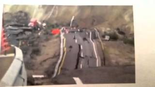 "San Andreas Fault Line 7 Earthquakes ""Road Collapse"""