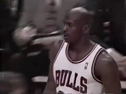 95/96 Chicago Bulls vs Atlanta Hawks (28.03.1996) – Toni Kukoc Show!